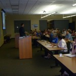 Phil welcomes attendees to the workshop