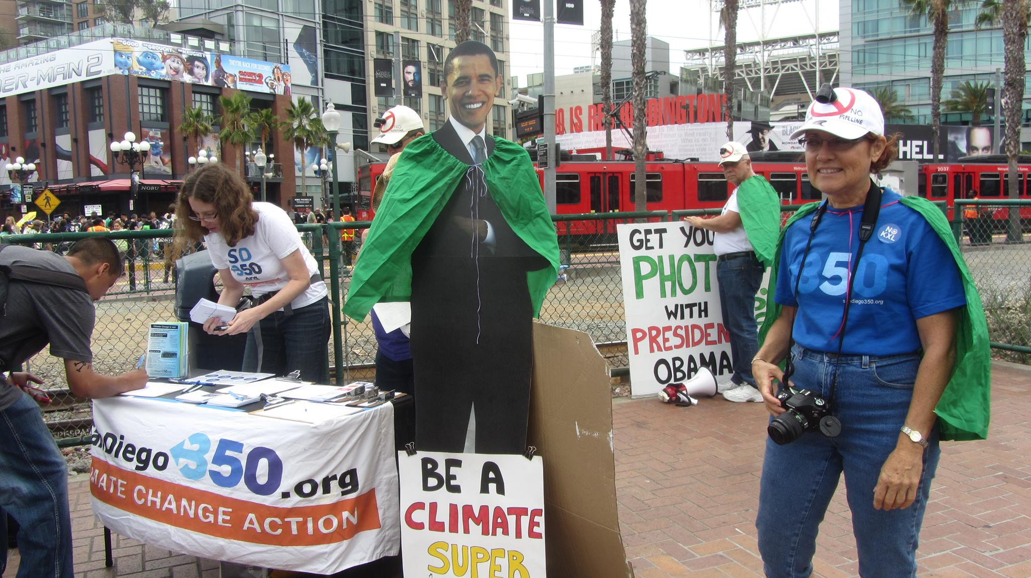 Climate Superhero HQ at Comic-Con