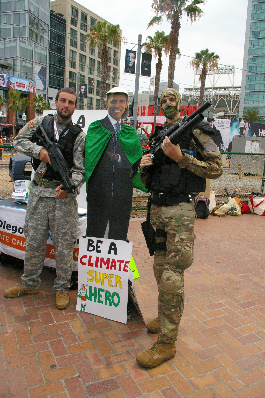 climate superheroes!