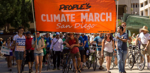 People's Climate March sets off!