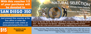 Natural Selection: A Climate Crisis Comedy @ Howard Brubeck Theatre - Palomar Performing Arts | San Marcos | California | United States