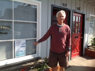 MB attorney John Ready is one of many proprietors who gladly displayed our HWL poster in their windows.