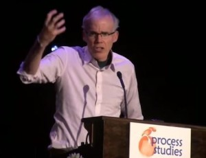 Bill McKibben delivers an impassioned keynote address.