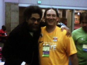 Climate conference keynote speaker Cornel West with James