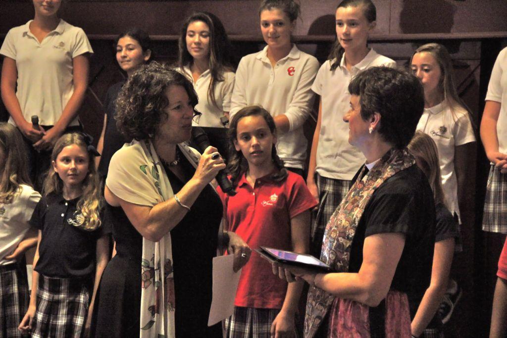 Elders leading, children reminding us they will inherit the world we make.