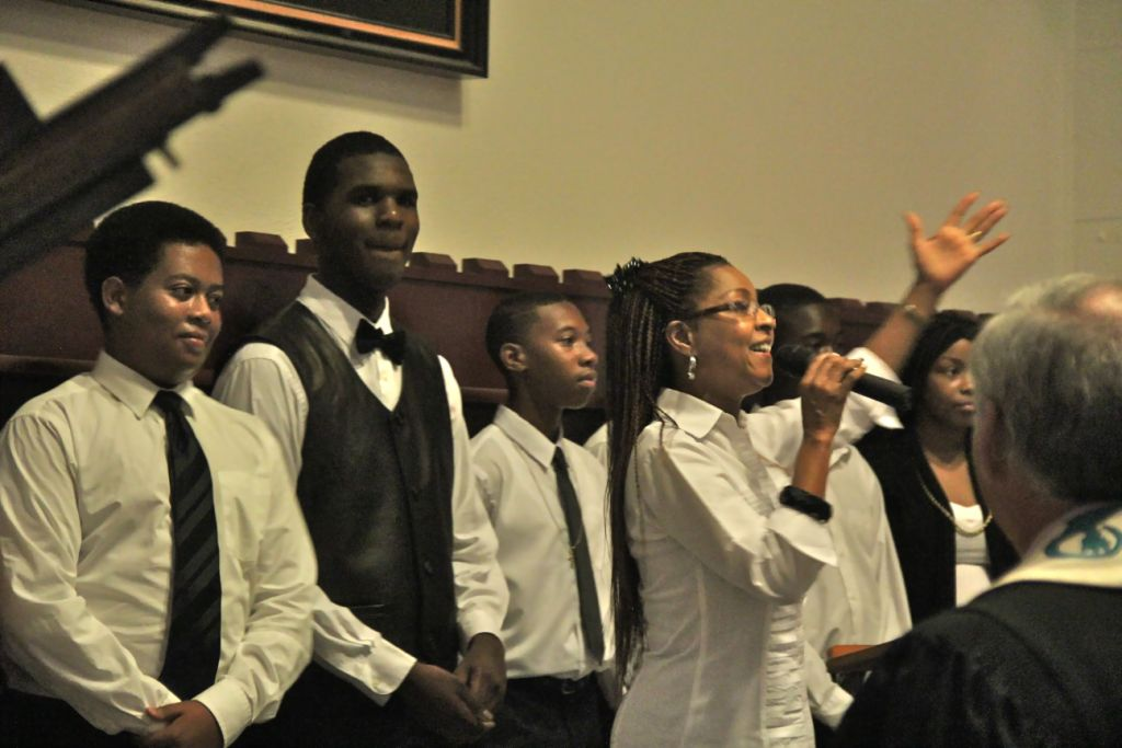 St. Stephens's  young choir ended the program by reminding us that we embody hope.