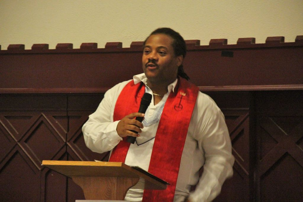 """Rev. J. Lee Hill: """"We must care for the Earth because God cared enough to create it."""""""