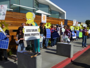 Don't Block the Sun! (Protest) @ Sempra | San Diego | California | United States
