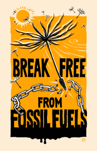 Break Free from Fossil Fuels logo