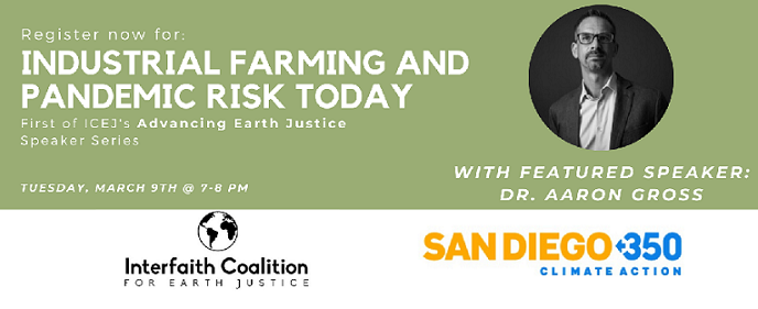Industrial Farming and Pandemic Risk Today @ California