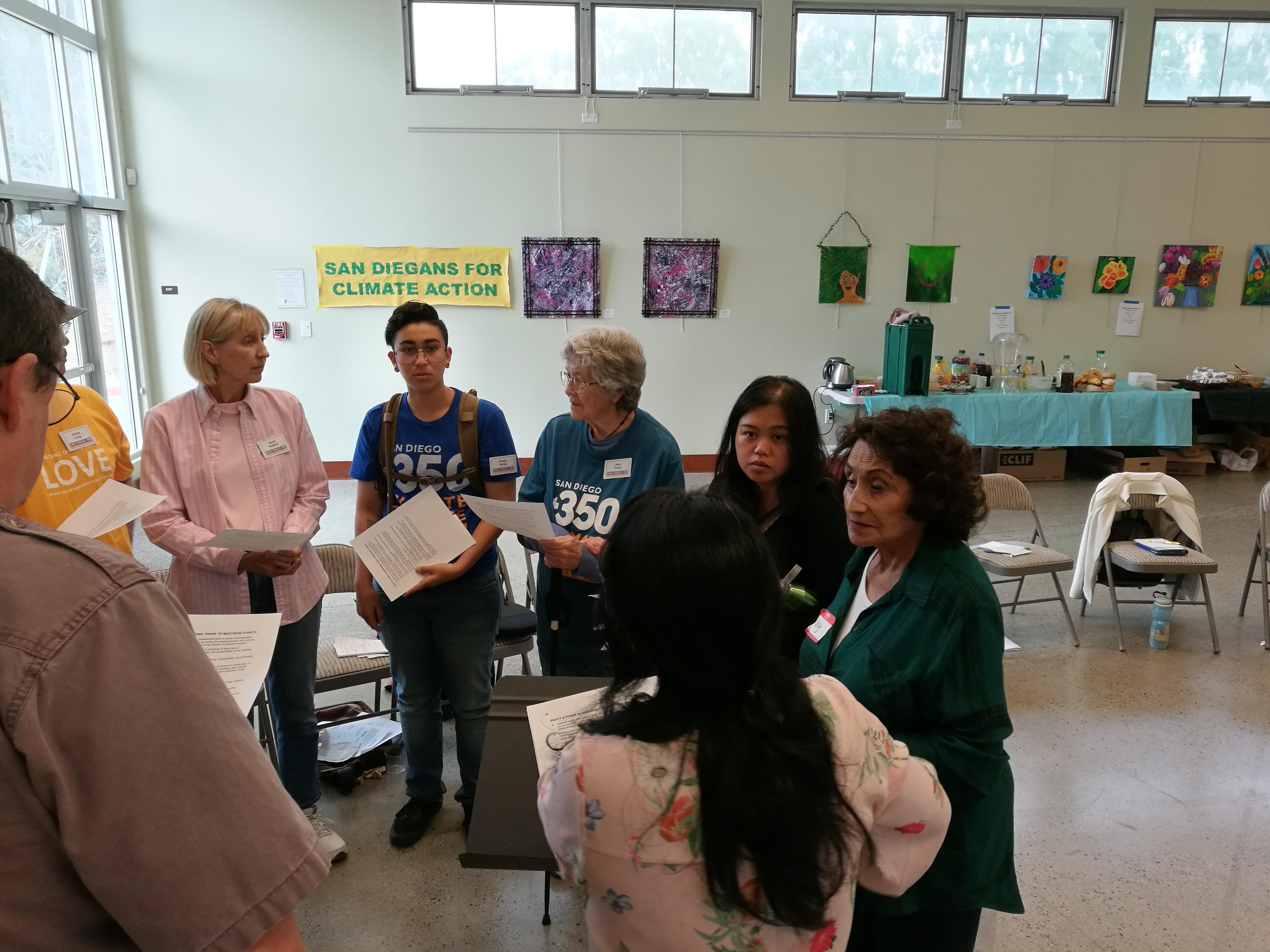 SanDiego350 Monthly Membership Meeting @ Seaside Center for Spiritual Living