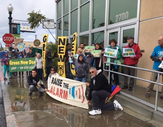 Friday Green New Deal Rallies at Rep. Davis! @ Rep. Susan Davis' office