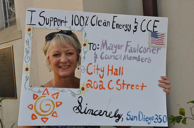 Support Community Choice Energy and 100% Renewable Energy! @ San Diego City Hall | San Diego | California