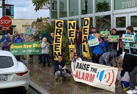 Rep. Susan Davis: Cosponsor the Green New Deal! @ Trolley Barn Park | San Diego | California