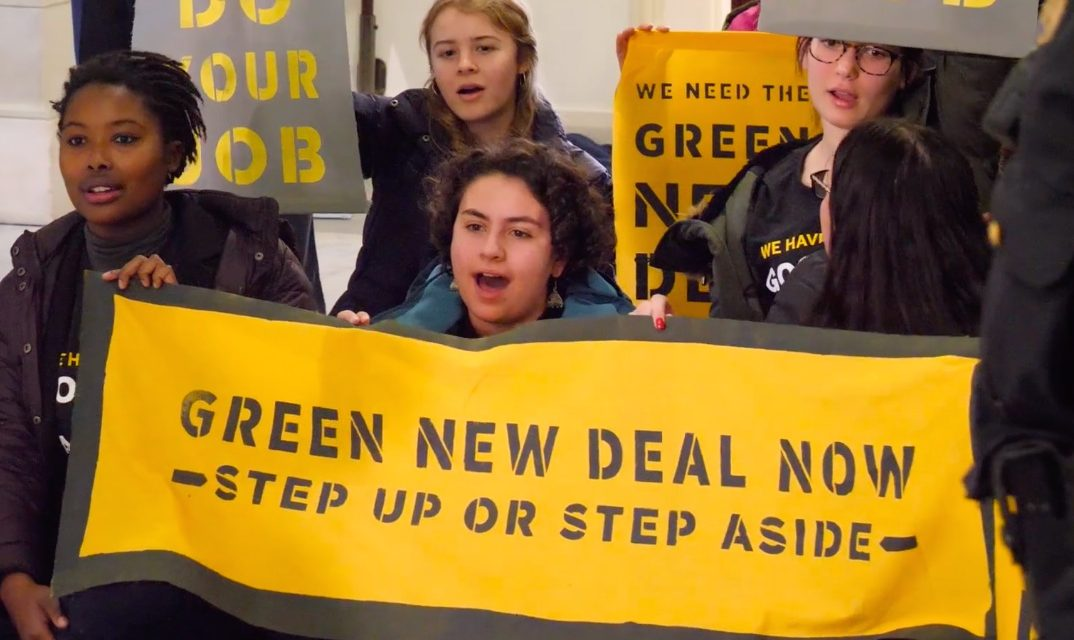 Rep. Scott Peters: Endorse a Green New Deal! @ Rep. Peters' Office